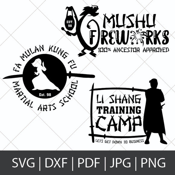 MULAN BUSINESS SVG BUNDLE
