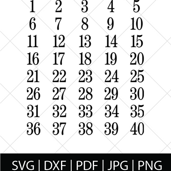 DIY PREGNANCY COUNTDOWN SVG FILE