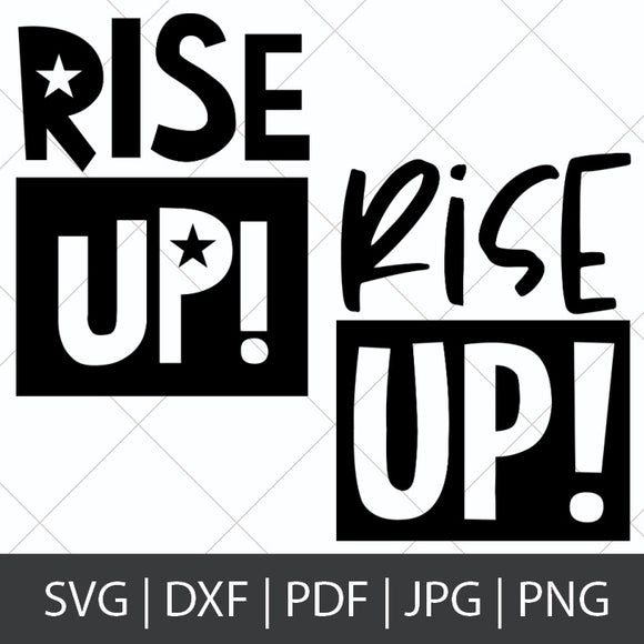 RISE UP! - HAMILTON SVG BUNDLE