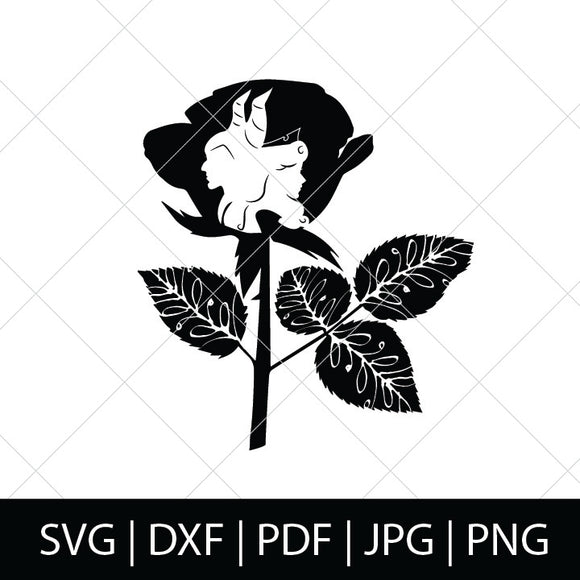 MALEFICENT & AURORA ROSE SVG - MALEFICENT SVG FILES