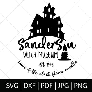 SANDERSON WITCH MUSEUM - HOCUS POCUS SVG FILE