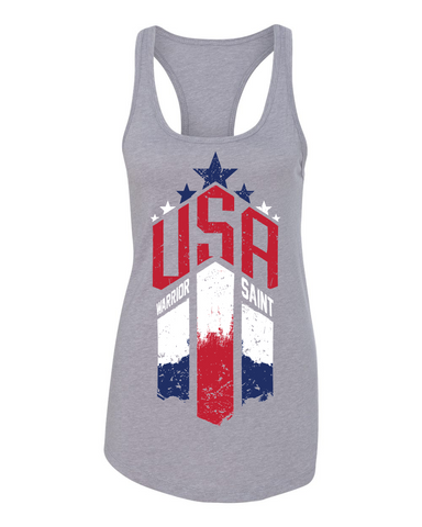 USA - Ideal Racerback Tank
