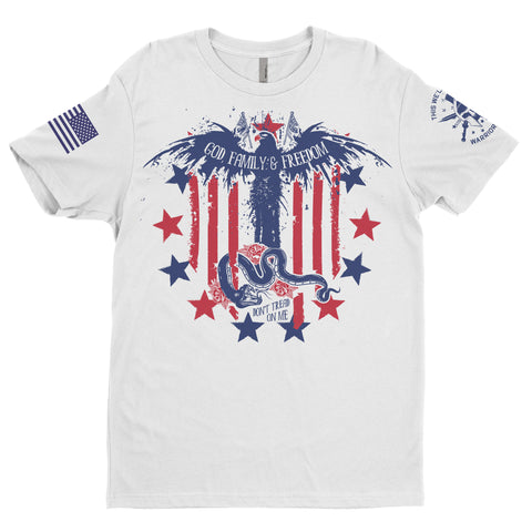 American July 4th Tee Warrior Saint Apparel