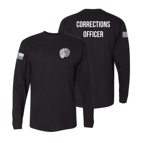 Corrections Officer long Sleeve Tshirt