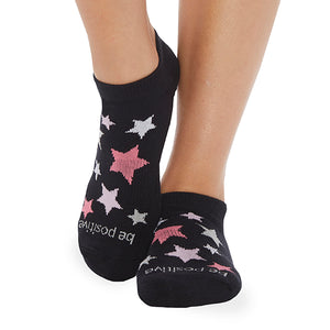 NEW Be Positive Socks WOMAN
