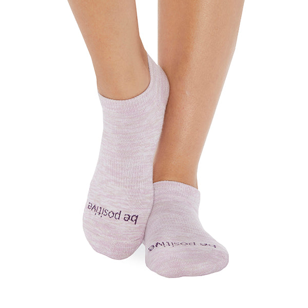 NEW Be Positive Marbled Socks WOMAN