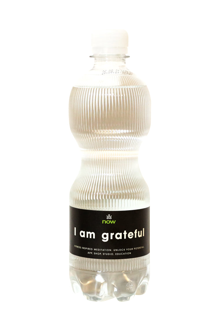 Mindful Water - I am grateful