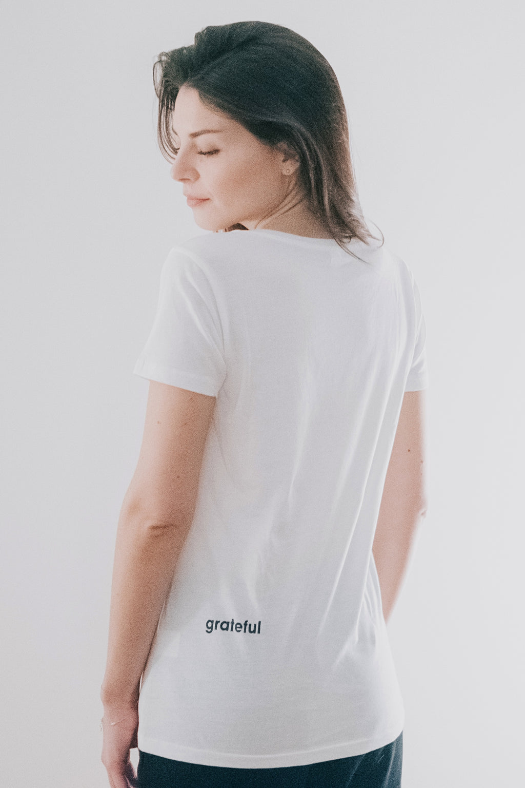 grateful shirt woman