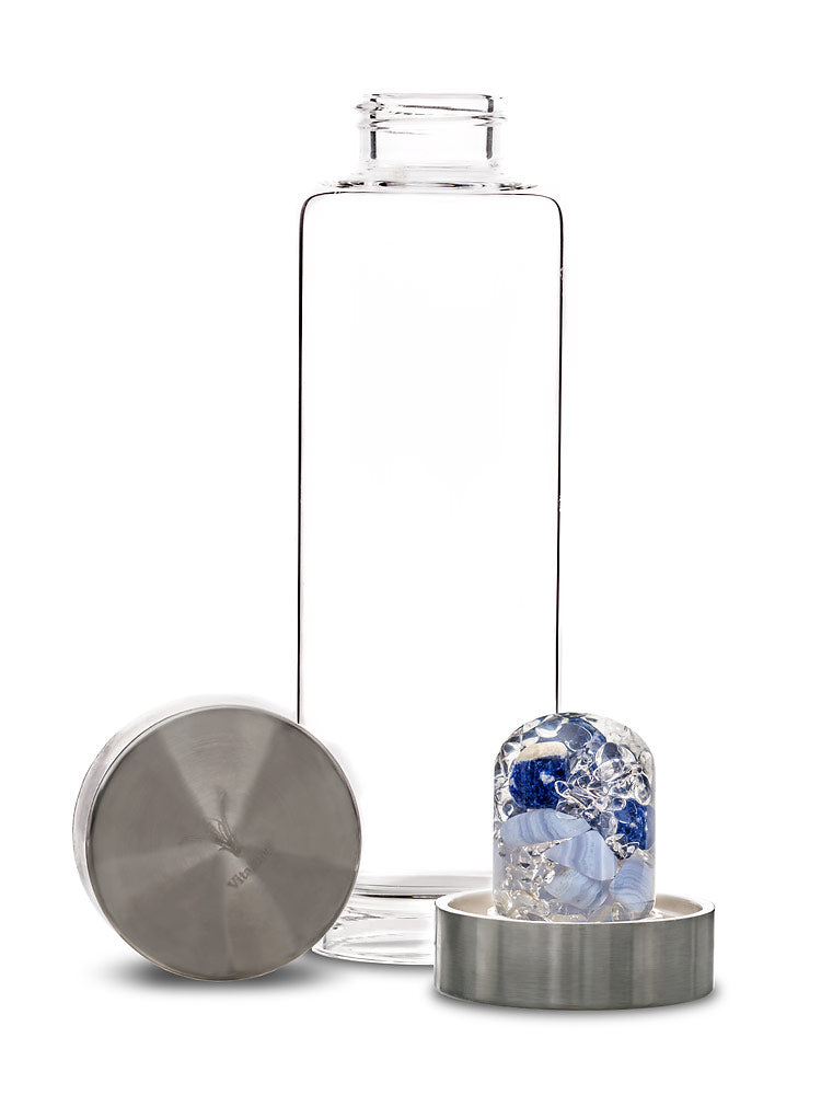 Balance Crystal Glass Bottle
