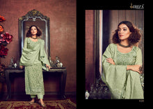 IBIZA-LYBA, PURE HANDLOOM WEAVING DESIGNER SUIT/SALWAR KAMEEZ (SET OF 7)  catalogue