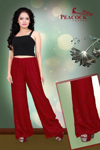Peacock Rayon Palazzo Pants Wholesale Catalog