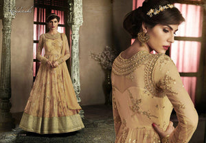 11059 NAKKASHI- ANARKALI SUIT