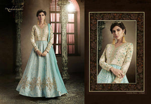 11060 NAKKASHI- ANARKALI SUIT