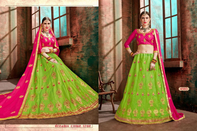 NAAZ-SILK LEHENGA ( SET OF 6)