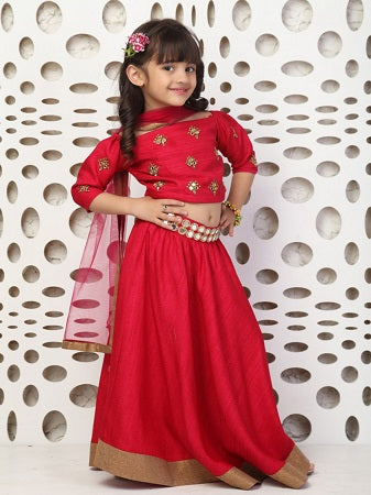 Girl's Party Wear 96002 - Textile And Handicraft