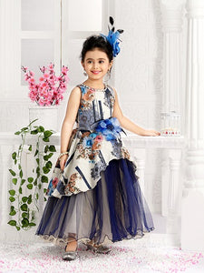 Girl's Party Wear 96003 - Textile And Handicraft