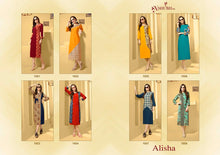 Alisha Vol. 1  catalogue
