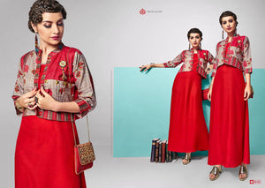 Designer Kurtis Wholesale Catalogue - Amaze Vol. 2 - Textile And Handicraft