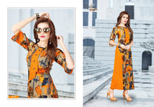 Bhakti Vol. 1 Printed Kurtis catalogue
