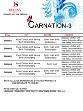 Carnation Vol. 3  catalogue