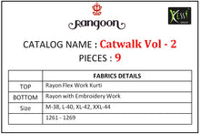 Catwalk Vol. 2  catalogue
