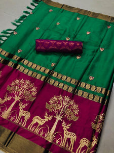 Deer Work - Textile And Handicraft