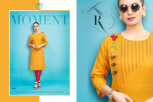 Designer Kurtis Wholesale Catalogue - Diva 2 - Textile And Handicraft