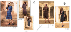 Designer Kurtis Wholesale Catalogue Shopper Stop - Textile And Handicraft