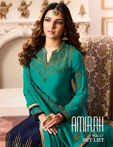 Hit List Designer Wholesale Salwar Suits Catalogue - Textile And Handicraft