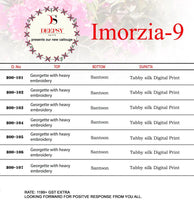 Imorzia 9  catalogue