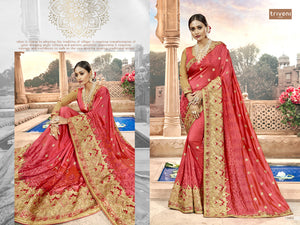 Jubilee Party Wear Georgette Sarees Wholesale - Textile And Handicraft