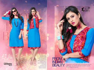 Designer Kurtis Wholesale Catalogue Laveena Vol. 6 - Textile And Handicraft