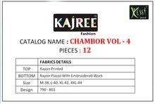 Chambor Vol. 4  catalogue