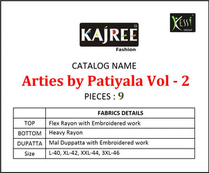 Arties By Patiyala Vol. 2 - Textile And Handicraft