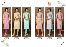 Kangana Georgette Kurtis catalogue