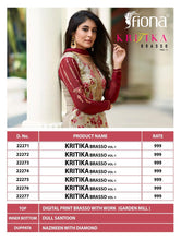 Kritika Brasso Vol. 1  catalogue