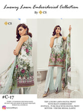 Luxury Lawn Vol. 5 Chudidar Dress Materials Catalogue catalogue