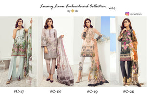 Luxury Lawn Vol. 5 - Textile And Handicraft