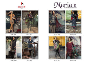 Maria B. Winter Collection - Textile And Handicraft