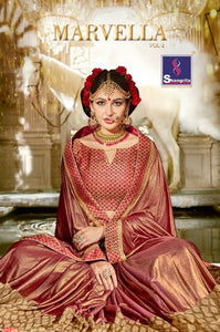 Marvella Vol. 2 Georgette Sarees Wholesale Catalog - Textile And Handicraft