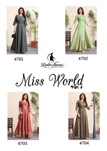 Miss World Vol. 3 - Textile And Handicraft
