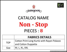 Non Stop  catalogue