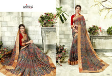 Load image into Gallery viewer, Anatra Georgette Sarees Wholesale Catalog Online - Textile and Handicraft