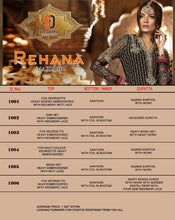 Rehana Maria B.  catalogue