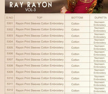 Ray Rayon Vol. 3  catalogue