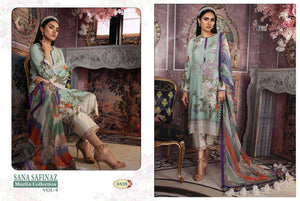 Sana Safinaz Muslin Vol. 4 - Textile And Handicraft