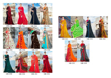 Autograph Vol. 1 Printed Georgette Sarees  catalogue