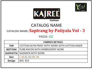 Saptrang By Patiala Vol. 3