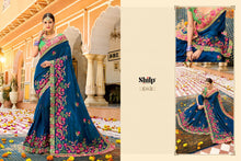Load image into Gallery viewer, Wholesale Traditional Sarees Online - Embroidery Sarees Wholesale.
