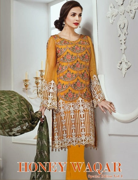 Honey Waqar Special Edition 1 - Textile And Handicraft
